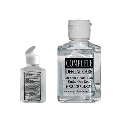 2 Oz Hand Sanitizer Gel Squeeze Bottle