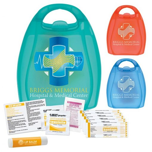 BIC Graphic® First Aid Kit w/Handle