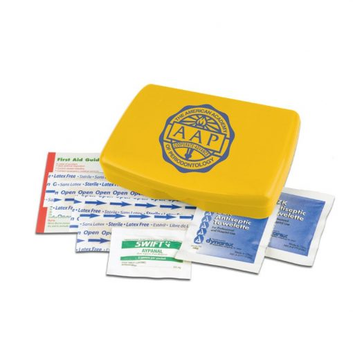 Express First Aid Kit with Non Aspirin Pain Reliever