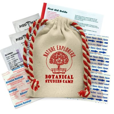 Handy Canvas First Aid Kit