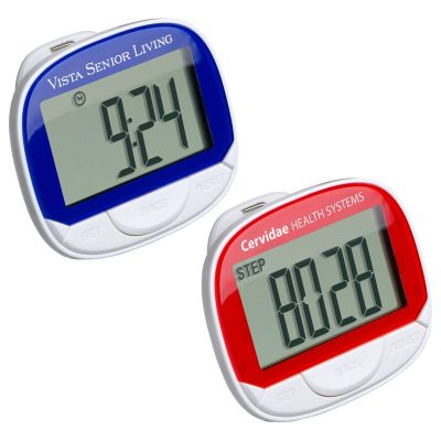 Jumbo Screen Multifunction Pedometer with Clock