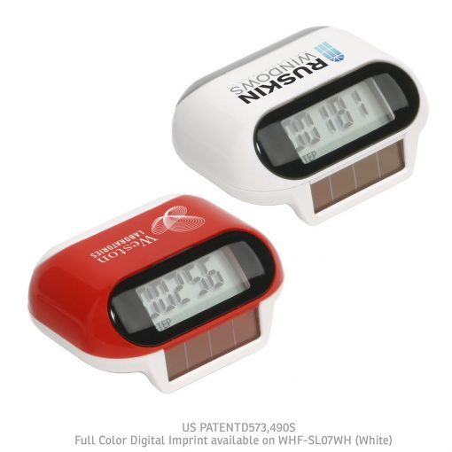 Solar Powered Pedometer