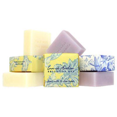 1.9 Oz. Square Bliss Tea Olive Bar Soap