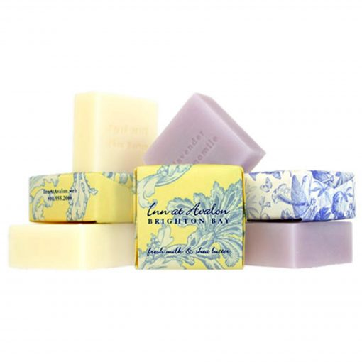 1.9 Oz. Square Bliss Tea Olive Bar Soap