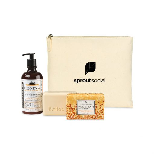 Beekman 1802 Farm To Skin Lotion & Bar Soap Gift Set - Natural-Honey & Orange Blossom