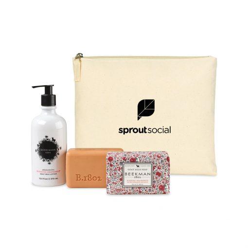 Beekman 1802 Farm To Skin Lotion & Bar Soap Gift Set - Natural-Honeyed Grapefruit