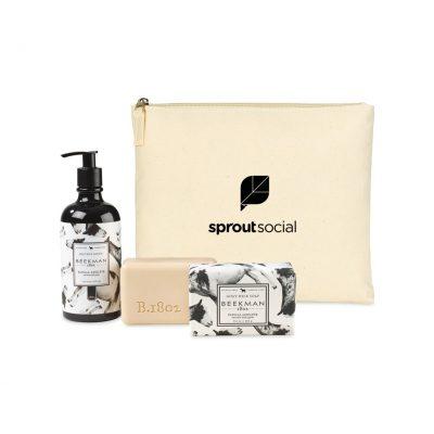 Beekman 1802 Farm To Skin Lotion & Bar Soap Gift Set - Natural-Vanilla Absolute
