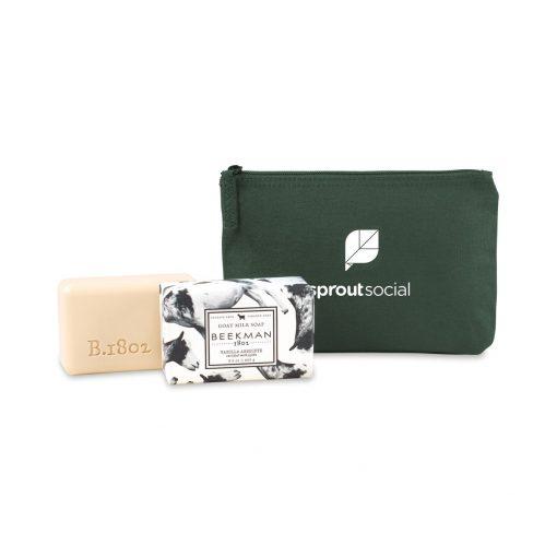 Beekman 1802 Farm to Skin Bar Soap Gift Set - Deep Forest Green-Vanilla Absolute