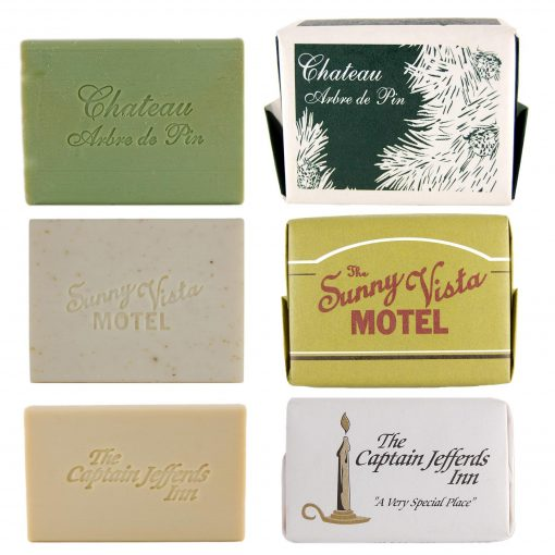 Unscented Oatmeal Early American Soap 3 pack 3oz. Bars In Custom Printed Gift Box