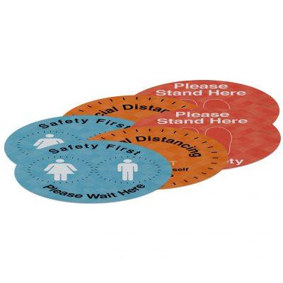 """18"""" Indoor Surface Grip Circles (set of six)"""