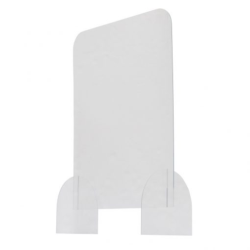 """24"""" x 32"""" Protective Acrylic Counter Barrier Hardware"""