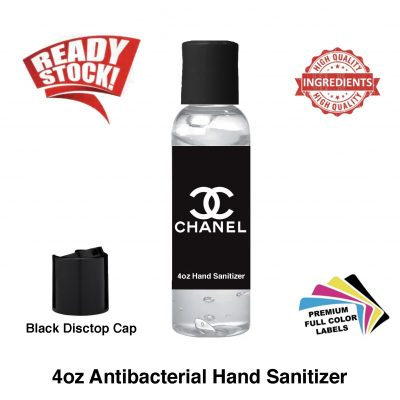 4 oz Antibacterial Hand Sanitizer Gel 4 ounces BLACK Label Out of Stock