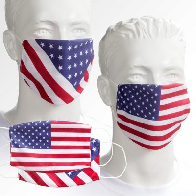 Overseas Patriotic Reusable Face Mask