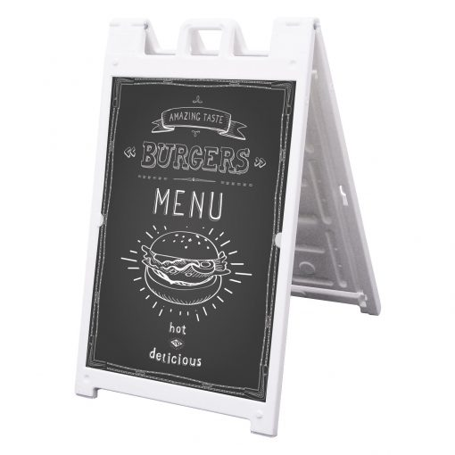 Signicade Deluxe A-Frame Chalkboard Kit