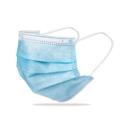 Single Use Face Mask - Sky Blue