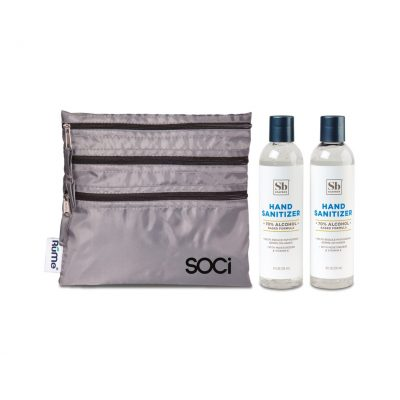 Soapbox® Hand Sanitizer Duo Gift Set - Cool Grey