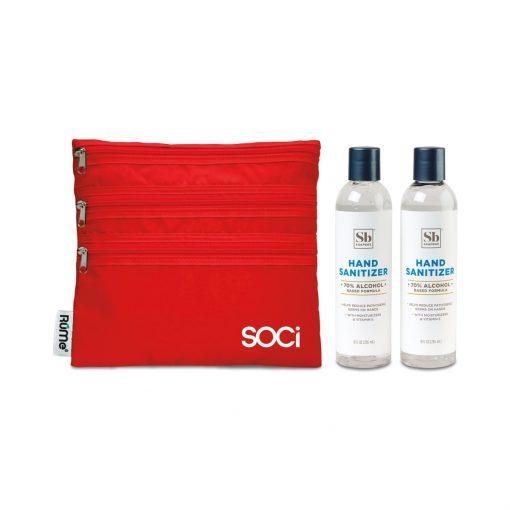 Soapbox® Hand Sanitizer Duo Gift Set - Crimson
