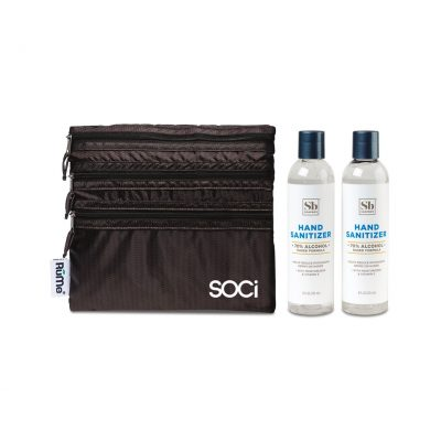 Soapbox® Hand Sanitizer Duo Gift Set - Herringbone