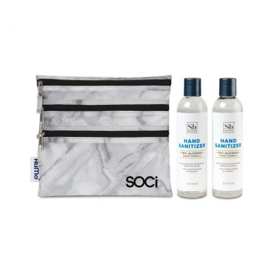 Soapbox® Hand Sanitizer Duo Gift Set - Marble