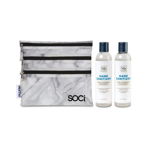 Soapbox® Hand Sanitizer Duo Gift Set - Marble