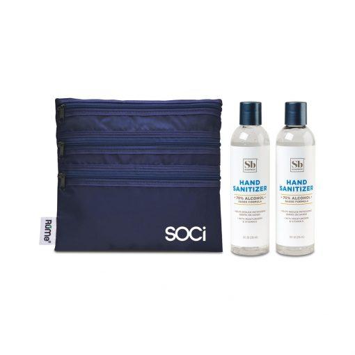 Soapbox® Hand Sanitizer Duo Gift Set - Navy