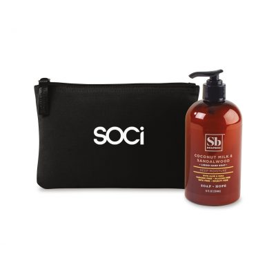 Soapbox® Healthy Hands Gift Set - Black-Coconut Milk & Sandalwood