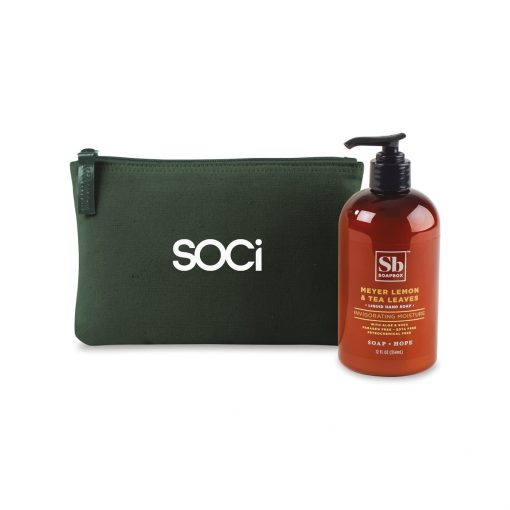 Soapbox® Healthy Hands Gift Set - Deep Forest Green-Meyer Lemon & Tea Leaves