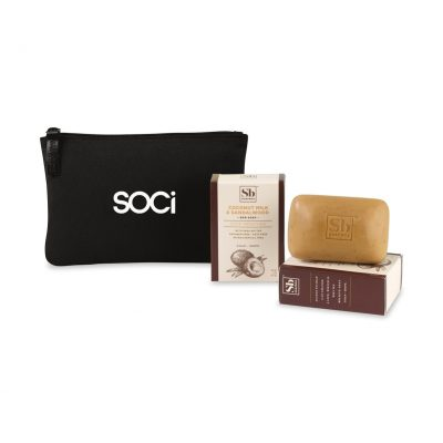 Soapbox® Nourish & Restore Gift Set - Black-Coconut Milk & Sandalwood