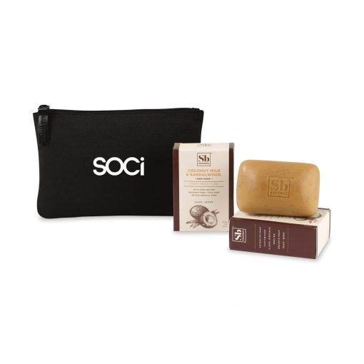 Soapbox® Nourish & Restore Gift Set - Black-Coconut Milk & Sandalwood