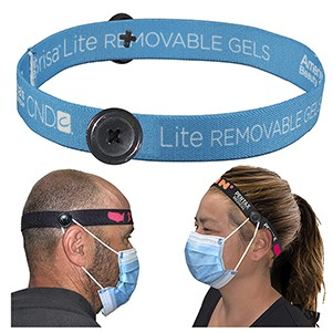 "3/4"" Wide ""Mask Master"" Ear Saver Headband"