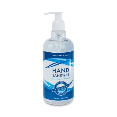 16.9 Oz. Hand Sanitizer with Pump - Clear