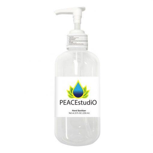 8 Oz. Sanitizer w/Pump