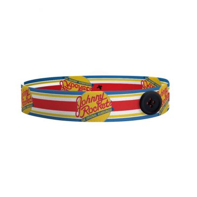 """Mask Buddy Pro 1"""" Dye-Sub Elastic Head Band with Buttons"""