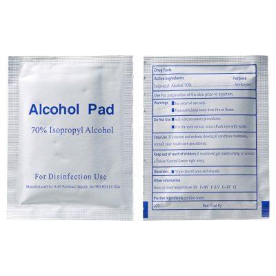 Ready-Clean Single Sanitizer Wipes (Box of 80pcs)