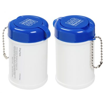 Travel Well Sanitizer Wipes Key Chain (30 wipes)