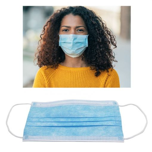 Adult 3-Ply Non-Woven Face Mask
