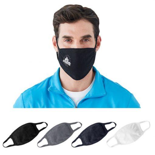 Harriton® Cotton Face Mask