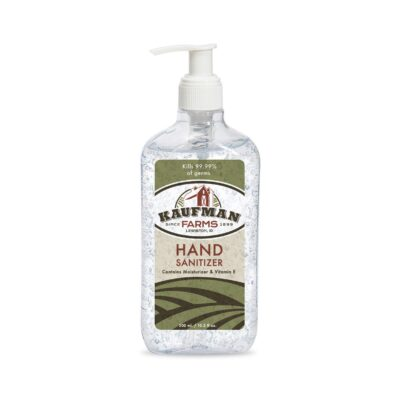 10.2 Oz. Hand Sanitizer with Pump - Direct Import - Clear