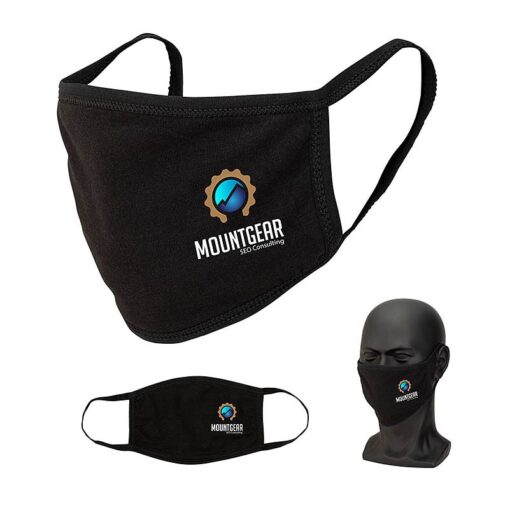 Comfort 3-Layer Cotton Blend Face Mask