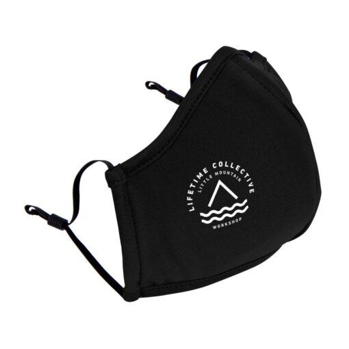 Reusable Athleisure Face Mask - Black