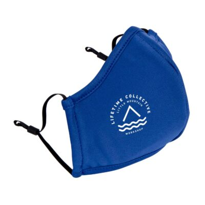 Reusable Athleisure Face Mask - Cobalt Blue