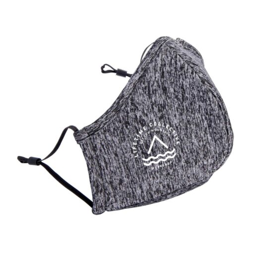 Reusable Athleisure Face Mask - Shadow Heather