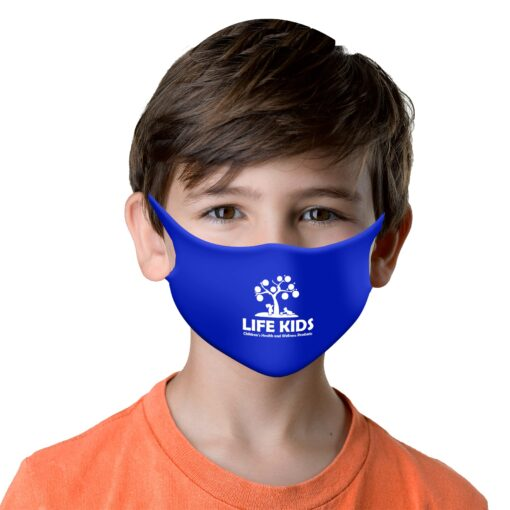 Youth Size Stretch Fit Face Mask