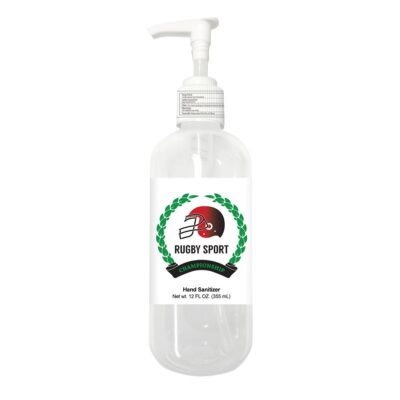 12 Oz. Sanitizer w/Pump