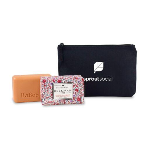Beekman 1802® Farm to Skin Bar Soap Gift Set - Black-Honeyed Grapefruit