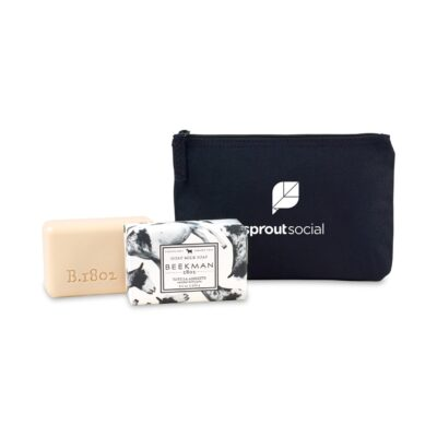 Beekman 1802® Farm to Skin Bar Soap Gift Set - Black-Vanilla Absolute