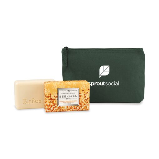 Beekman 1802® Farm to Skin Bar Soap Gift Set - Deep Forest Green-Honey & Orange Blossom