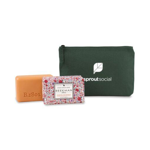 Beekman 1802® Farm to Skin Bar Soap Gift Set - Deep Forest Green-Honeyed Grapefruit