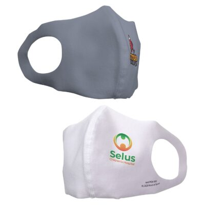 Sentinel Polyester Heat Transfer Face Mask For Children