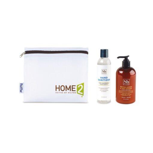 Soapbox® Hand Soap & Sanitizer Care Pack - Black-Meyer Lemon & Tea Leaves